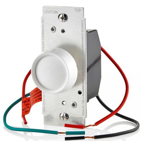 Leviton RDL06-10Z Universal Electro-Mechanical Rotary Dimmer